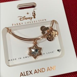 Alex and Ani Mickey Mouse Snowflake Bracelet